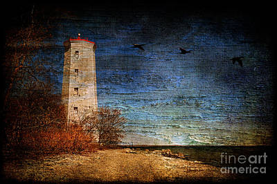 Photograph - Presquile Lighthouse by Lois Bryan