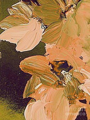 Painting - Pressed Petals by Nancy Kane Chapman