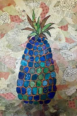 Painting - Pretend Pineapple by Phiddy Webb