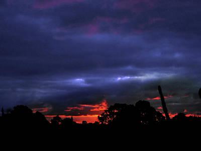 Photograph - Preternatural Sunset by Mark Blauhoefer
