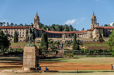 Photograph - Pretoria Union Buildings by Steven Richman
