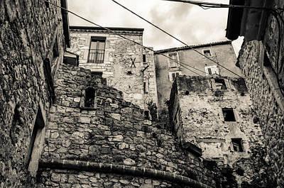 Photograph - Pretoro - A Medieval Village by Andrea Mazzocchetti