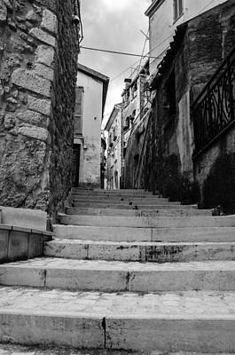 Photograph - Pretoro - An Ancient Street by Andrea Mazzocchetti