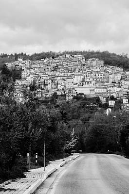 Photograph - Pretoro - An Ancient Village 2 by Andrea Mazzocchetti