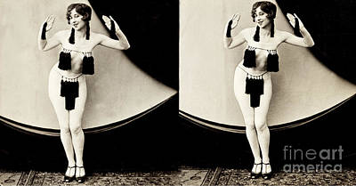 Suggestive Photograph - Pretty And Peppy, Nude Model, 1928 by Science Source