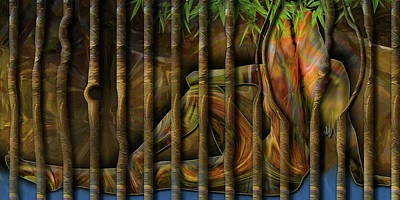Digital Art - Pretty As Prison by Steve Sperry