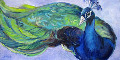 Painting - Pretty Bird by Michel McNinch