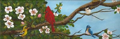 Pretty Birds Art Print