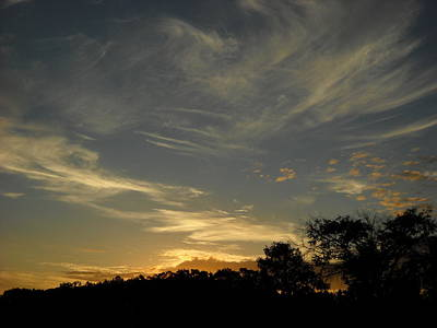 Photograph - Pretty Clouds In September Dawn Sky by Kent Lorentzen