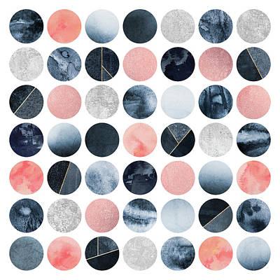 Niagra Falls Wall Art - Digital Art - Pretty Dots by Elisabeth Fredriksson