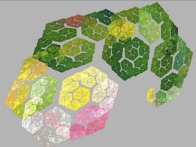 Digital Art - Pretty Geometric by Dwayne Jahn