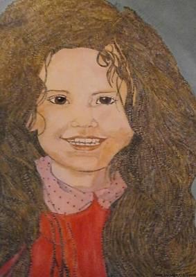 Lovely Lavender - Pretty Girl by Anne Bazabidila