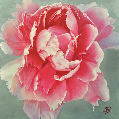 Painting - Pretty In Pink 1 by Sharon Bignell