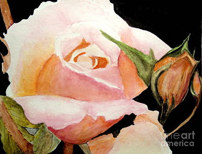 Painting - Pretty In Pink by Carol Grimes