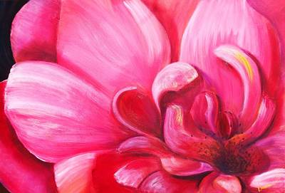 Painting - Pretty In Pink by Dana Redfern