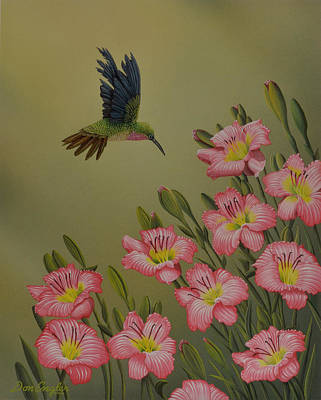 Painting - Pretty In Pink by Don Engler