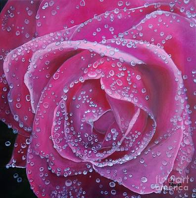 Painting - Pretty In Pink by Karen Jane Jones