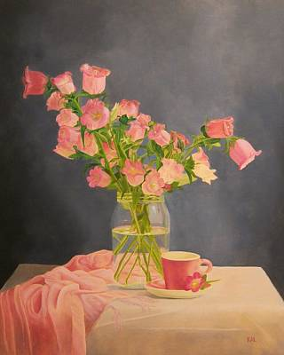 Painting - Pretty In Pink by Kathy Lumsden