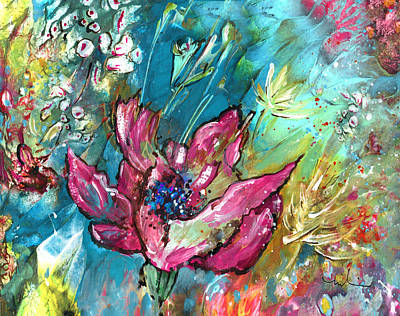 Painting - Pretty In Pink by Miki De Goodaboom