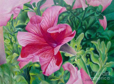 Pretty In Pink Original by Pamela Clements