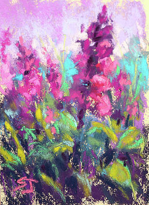 Painting - Pretty In Pink by Susan Jenkins