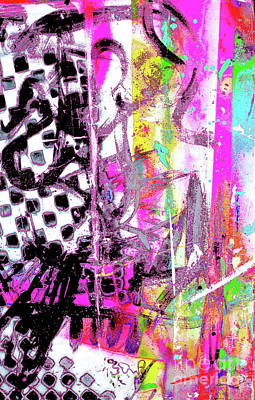 Painting - Pretty In Punk by Expressionistart studio Priscilla Batzell