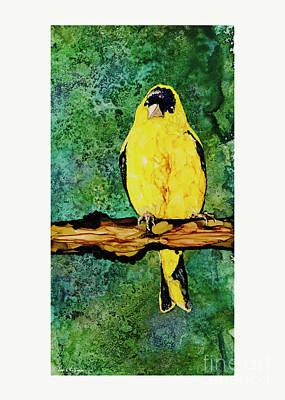 Painting - Pretty In Yellow by Jan Killian