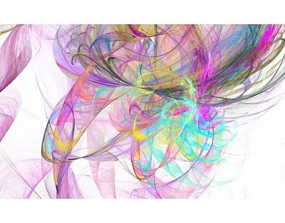 Digital Art - Pretty by Kelly Dallas