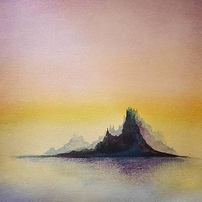 Painting - Pretty Little Island by Stephanie Hollingsworth