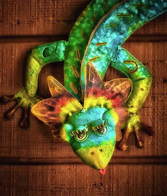 Photograph - Pretty Lizard by James Barber