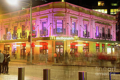 Photograph - Pretty Mcdonalds Vivid Sydney By Kaye Menner by Kaye Menner