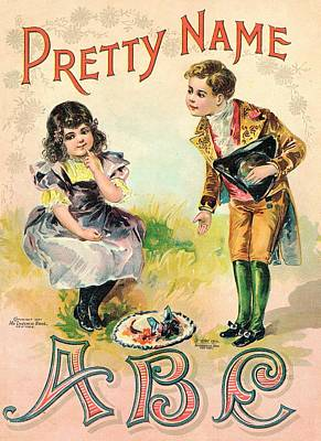 Pretty Name Abc Book Original by Reynold Jay