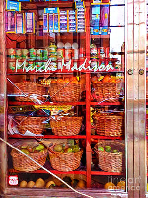 Photograph - Pretty New York Storefront - Madison Avenue by Miriam Danar