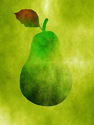 Pretty Pear Art Print