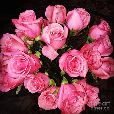 Roses Photograph - Pretty Pink Roses by Carol Groenen