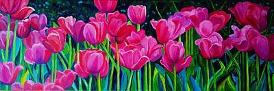 Painting - Pretty Pinks by Julie Brugh Riffey