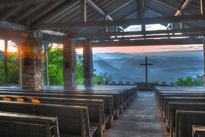 Pretty Place Chapel New Dawn Art Print by Reid Callaway