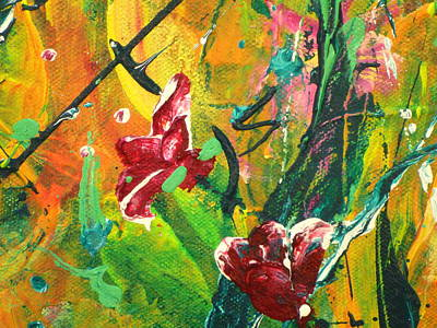 Painting - Pretty Posies by Tracy Bonin