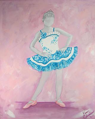 Painting - Pretty Princess by Kim Chambers