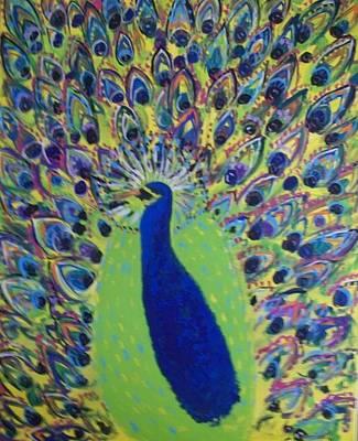 Pretty Proud Peacock Art Print by Seaux-N-Seau Soileau