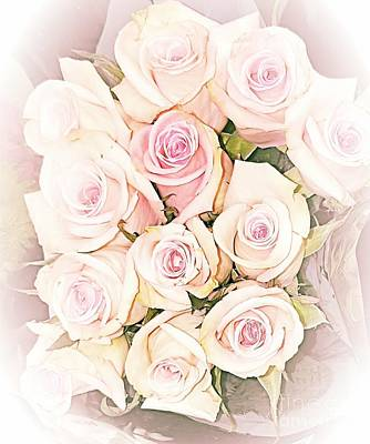 Photograph - Pretty Roses by Rachel Hannah