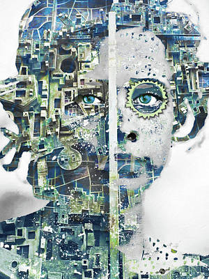 Mixed Media - Pretty by Tony Rubino