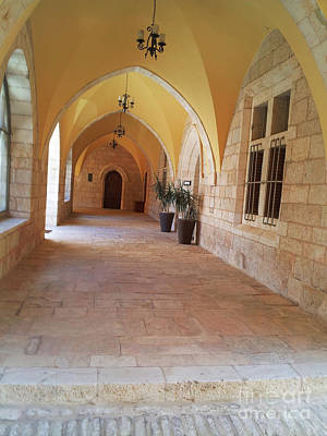 Photograph - Pretty Walkway Israel by Donna L Munro