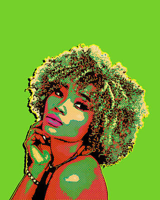 Digital Art - Pretty Woman II Pop Art by Anthony Murphy