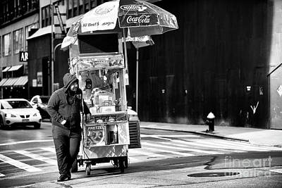 Photograph - Pretzel Man by John Rizzuto