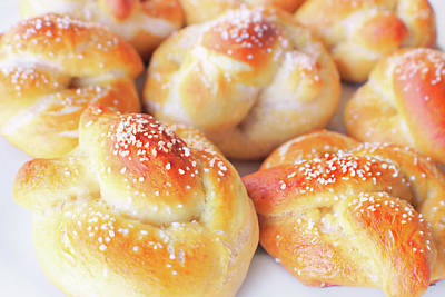 Photograph - Pretzels Bread by Iryna Goodall