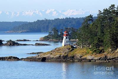 Photograph - Prevost Island Lighthouse by Frank Townsley