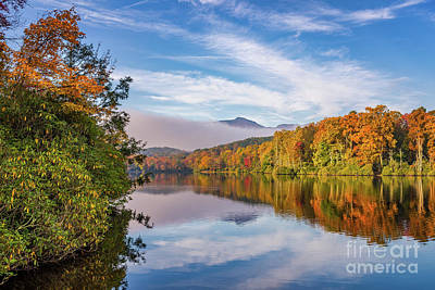 Photograph - Price Lake Autumn by Anthony Heflin