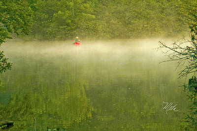 Photograph - Price Lake Canoe by Meta Gatschenberger