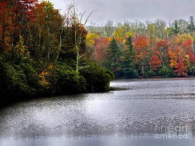 Photograph - Price Lake In The Fall by Dawn Gari